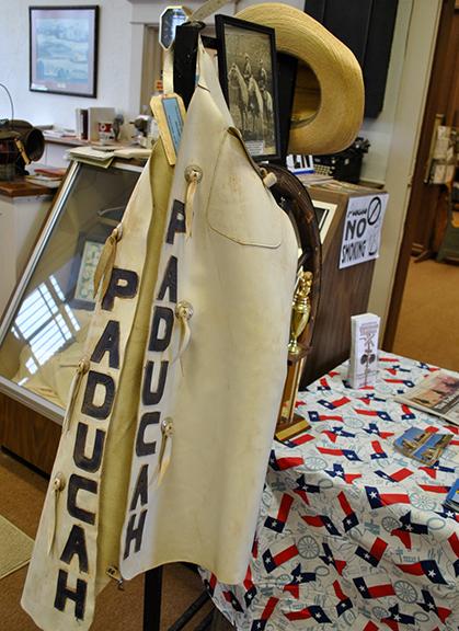 Paducah custom chaps in museum