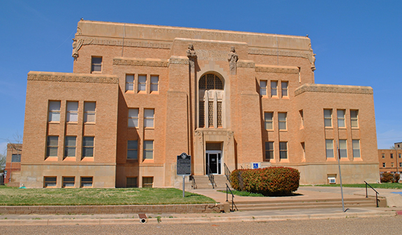 Cottle County Courthouse, Paducah