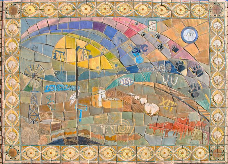Levelland mosaic