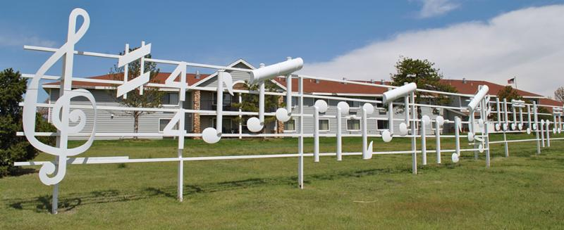 Pampa musical sculpture