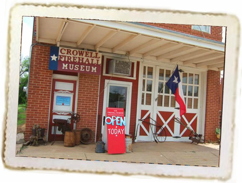 Fire Hall Museum, Crowell, Texas