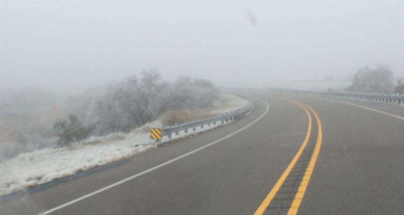 Icy US 62_ Motley County