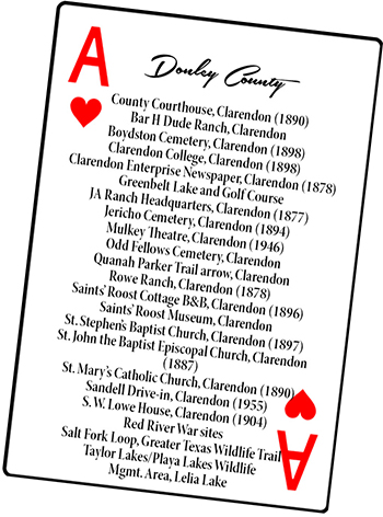 Donley County card