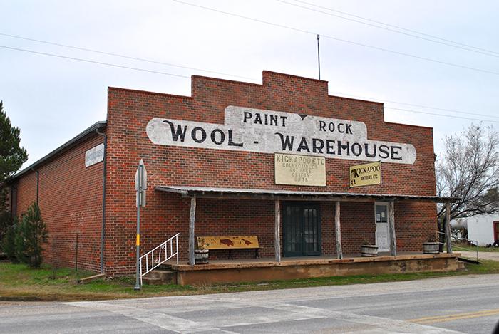 Wool warehouse_ Paint Rock_ Texas