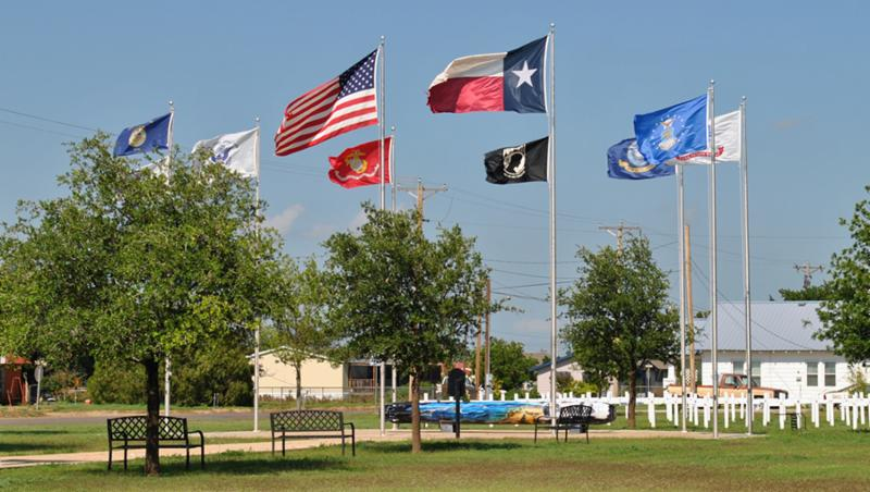 Veteran's Memorial Park, Lockney, Texas