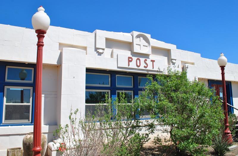 Post, Texas, Santa Fe Depot