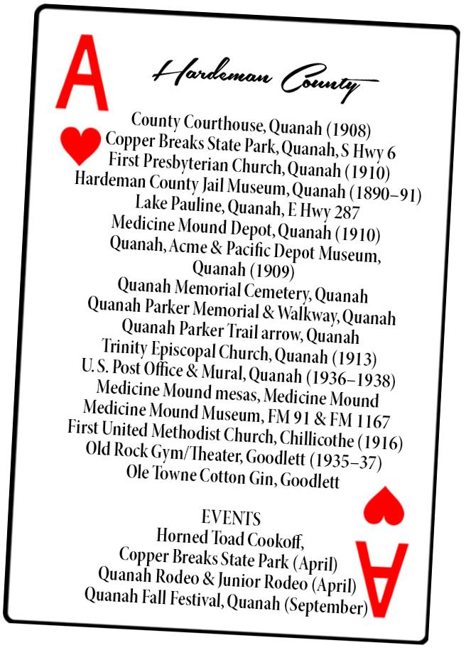 Hardeman County Card