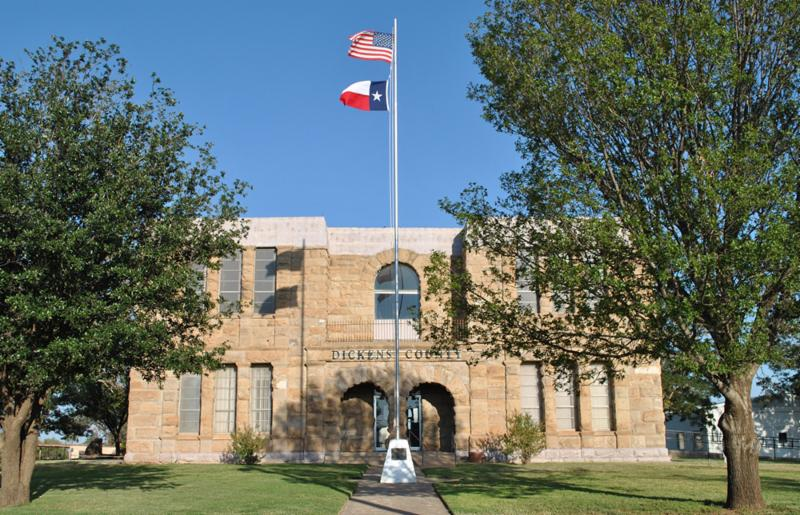 Dickens County Courthouse, Dickens, Texas