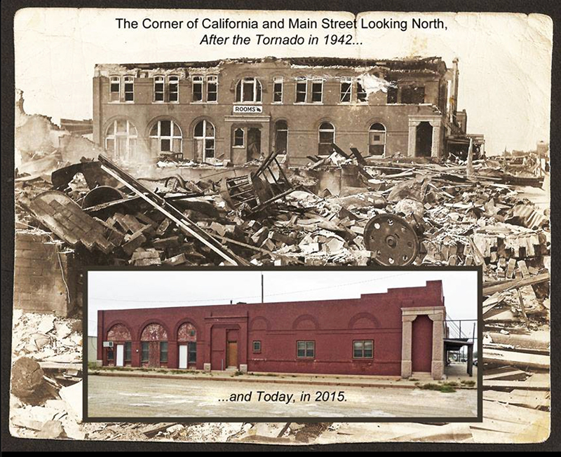 Crowell, TX, tornado, 1942