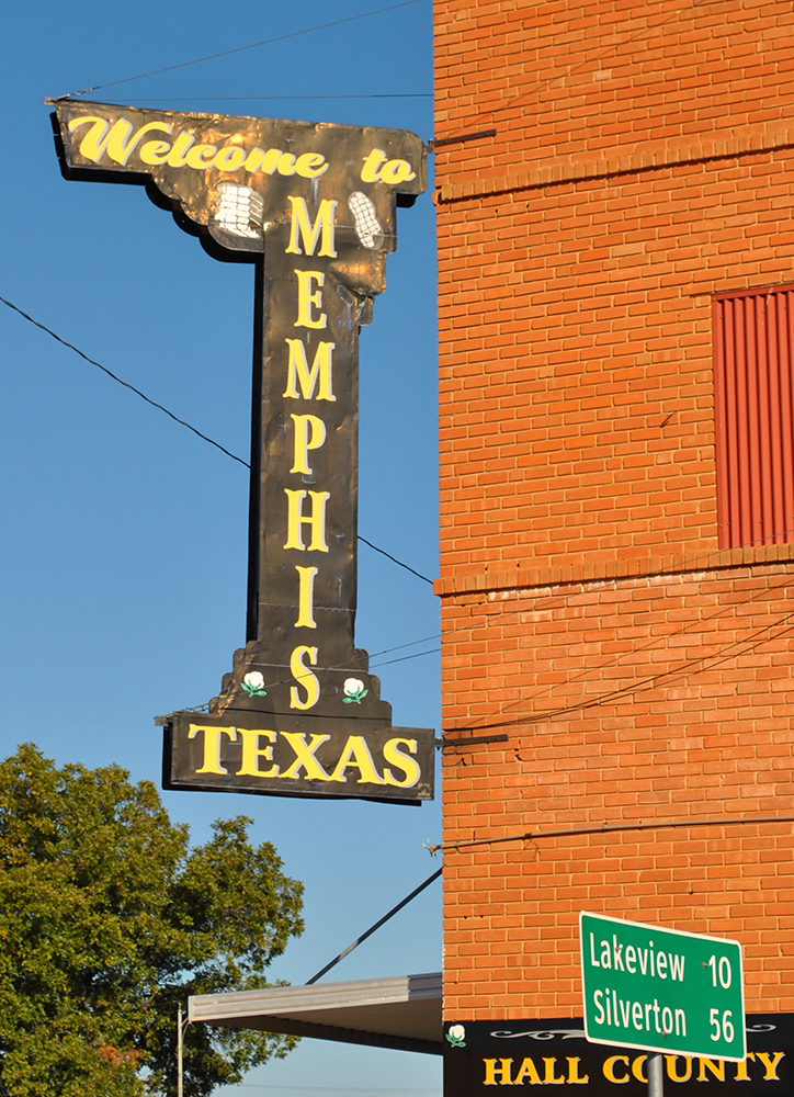 Welcome to Memphis, Texas