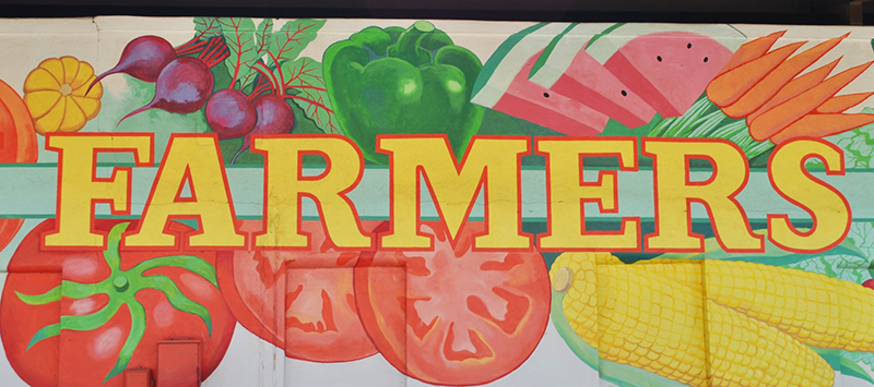 Lockney Farmers Market mural
