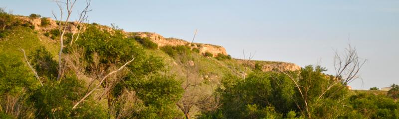 Blanco Canyon Quanah Parker Trail arrow