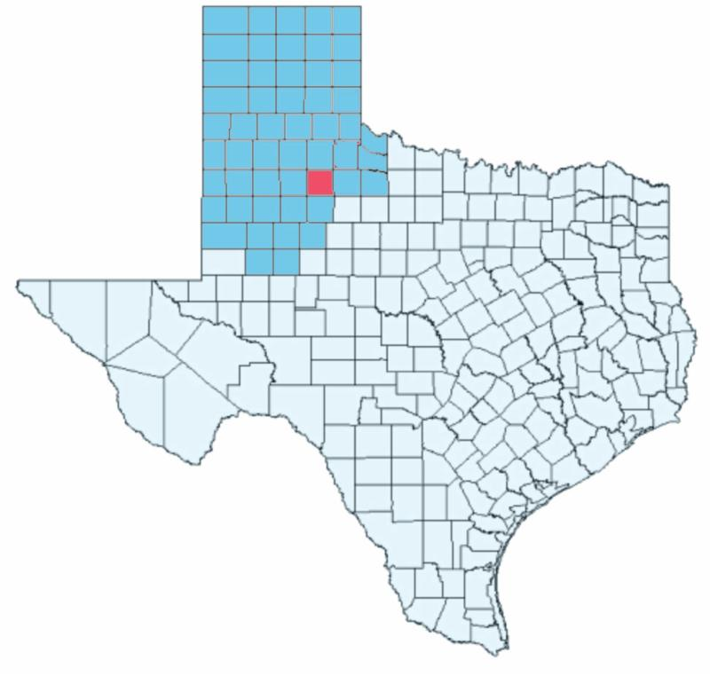 Dickens County, Texas