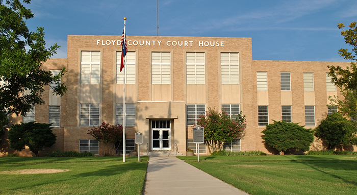 Floyd County Courthouse, Floydada, Texas