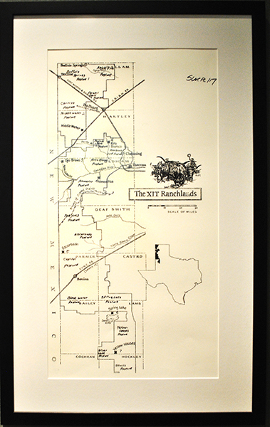 XIT Ranchlands Map