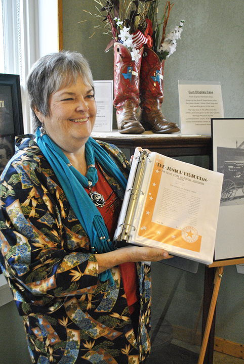 Texas Plains Trail Reigon board member Rita Isbell of Paducah
