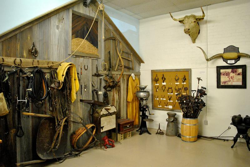 Ranch exhibit at XIT Museum, Dalhart