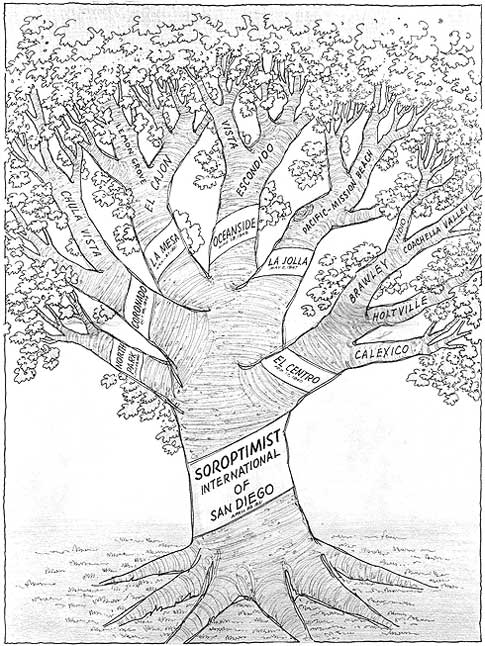 SI San Diego Tree