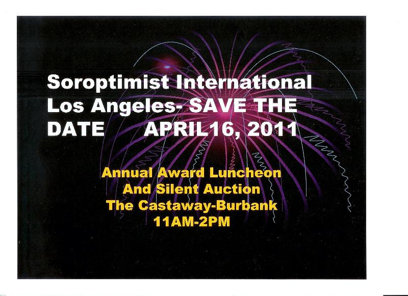 Save the Date 4-16-11