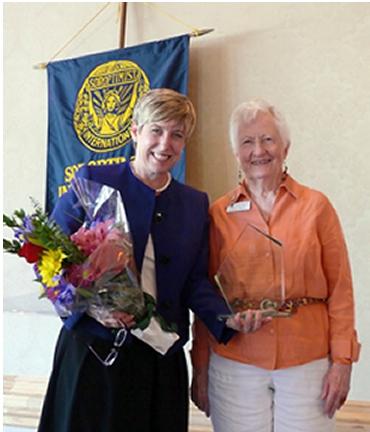 Wendy Greuel & Carole Oglesby