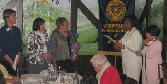 Induction of Ann and Diane