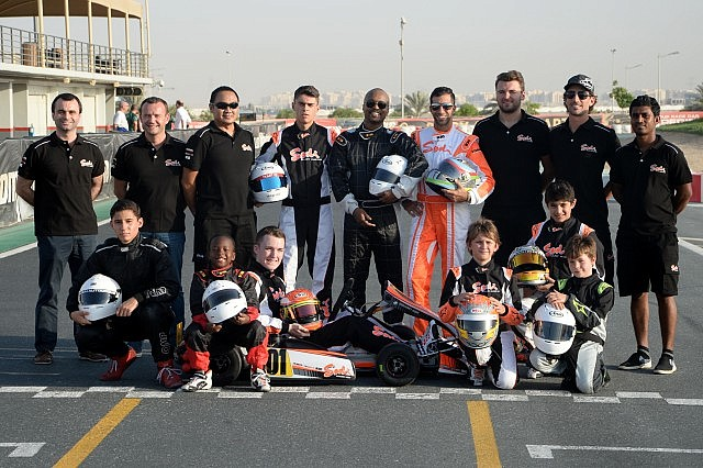 Sodi Racing Team crew and drivers