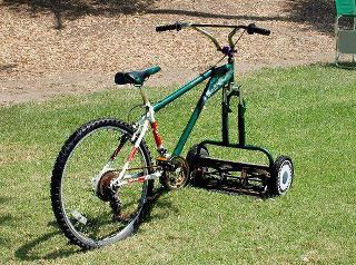 Old mower/cycle