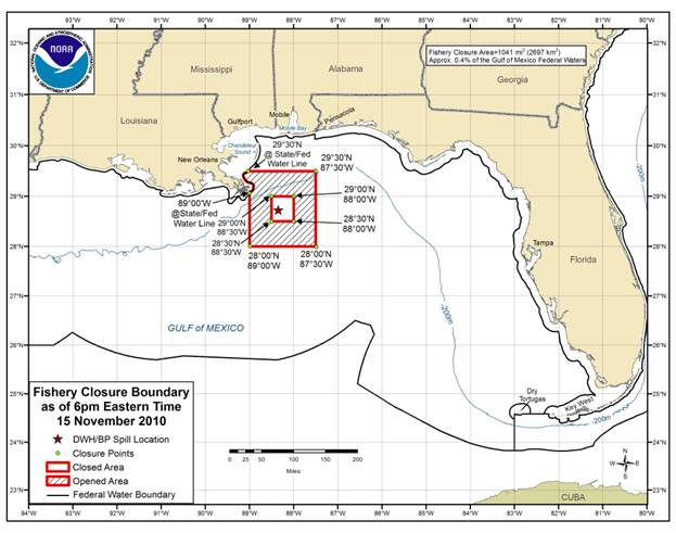 The rigs are finally open noaa reopens 8000 square miles of gulf of mexico opening of the ram powell marlin beer can and petronius rigs sciox Gallery
