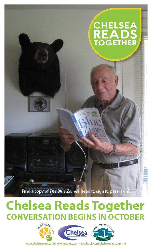 Hank Karner reads The Blue Zones