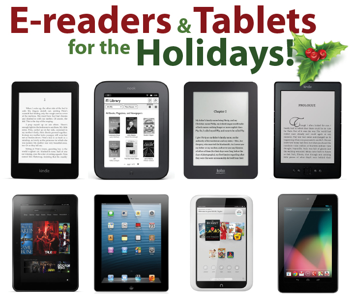 E-readers and Tablets for the Holidays