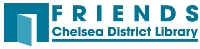 Friends of the Chelsea District Library logo