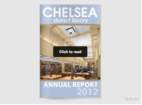Annual Report FY2012 Chelsea District Library