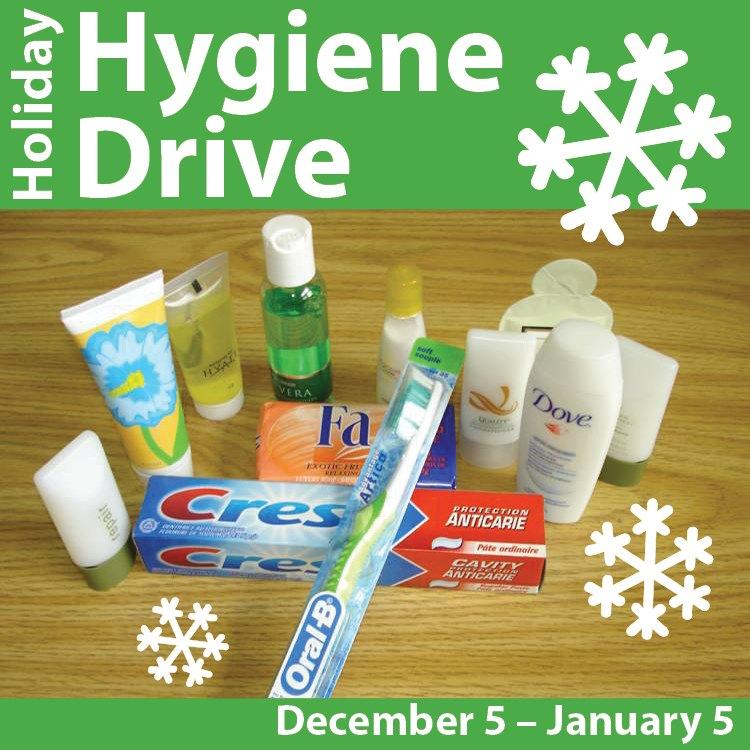 Holiday Hygiene Drive