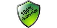 green guarantee sign