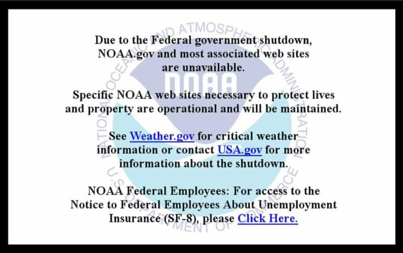 NOAA Shutdown