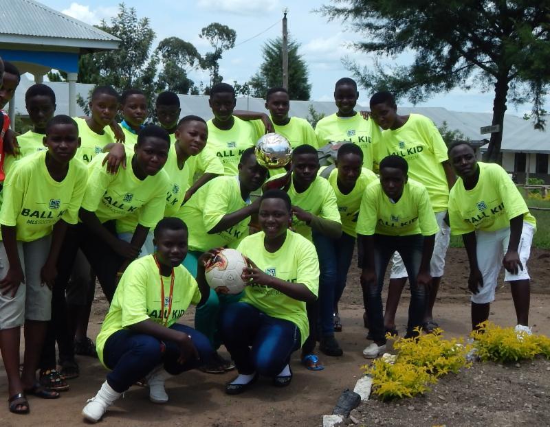 KSVS Regional Champions Football Girls' team
