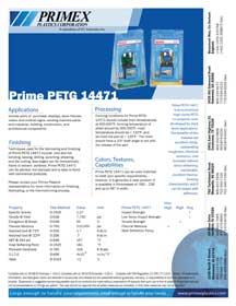 PETG Data Sheet