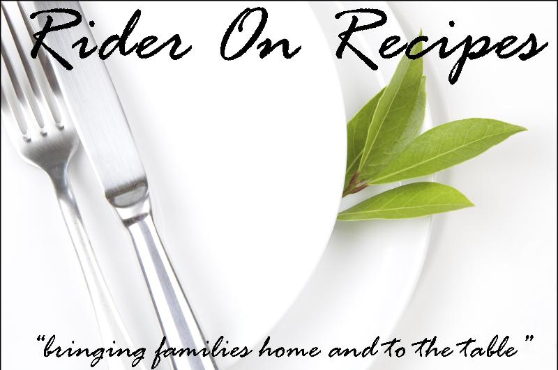 Rider On Recipes
