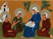 Three Marys Card