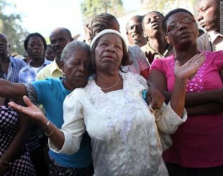 Haiti prayer