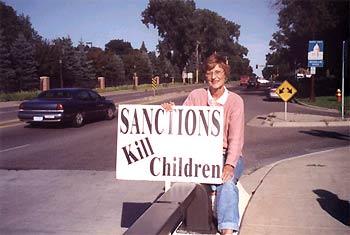 Marie Braun - Sanctions kill children