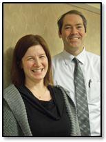 Drs. Alex Fertig and Jamie Tew