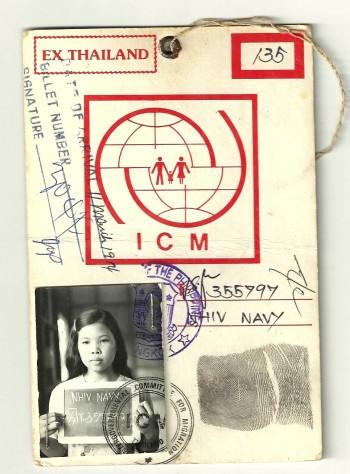 navy and passport