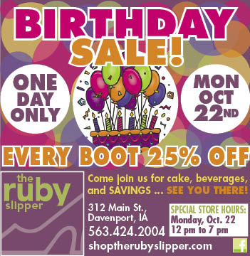 Ruby Slipper Sale