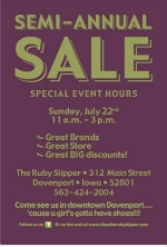 Ruby SLipper Sale