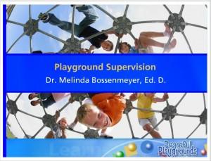 playground supervision training