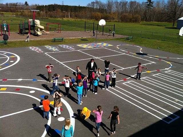 Peaceful Playgrounds-Cohosset Elementary