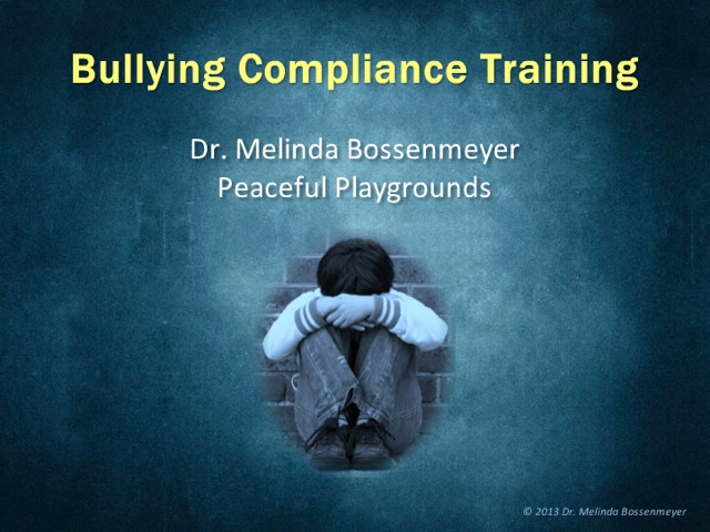 Bullying Course Cover photo