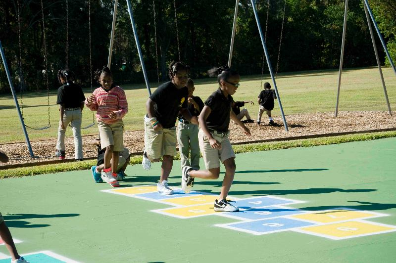 Kids Lanier Recess