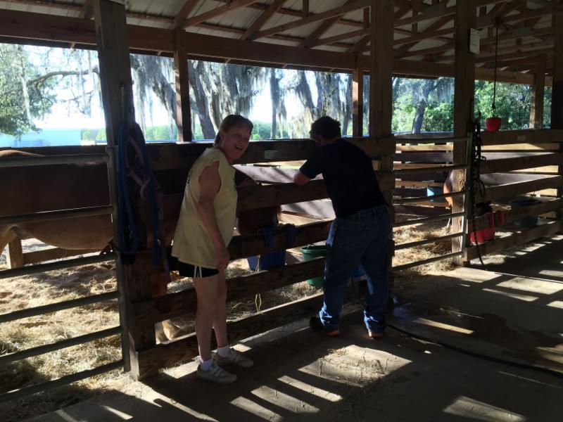 Volunteers-Barn